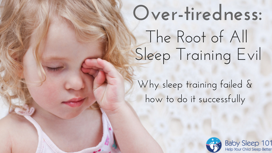 bfd00a36b968 Overtiredness- The Root of All Sleep Training Evil - Baby Sleep 101 ...