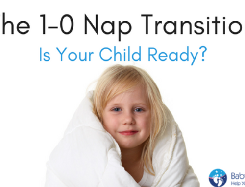 Taming Your Toddler's Sleep Part 2; The 1-0 Nap Transition