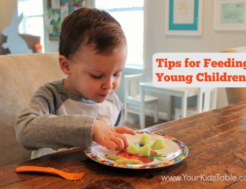 Feeding Young Children; 5 Tips that Make Meals Pleasant
