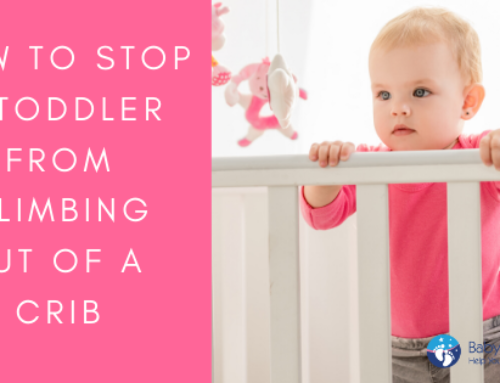 How To Stop Your Toddler From Climbing Out Of The Crib